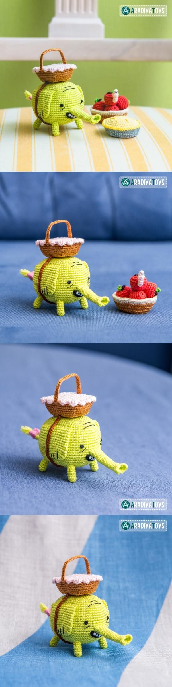 "Tree Trunks (""Adventure Time"") Amigurumi Pattern"