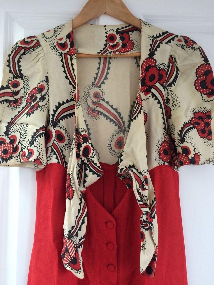 Genuine Vintage Ossie Clark Dress With Celia Birtwell Floating Daisy Print   eBay