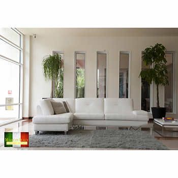 1000 Ideas About White Sectional On Pinterest Leather Sectional Sofas Sectional Sofas And