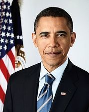 Barack Obama Official Presidential Portrait Photo Print for Sale