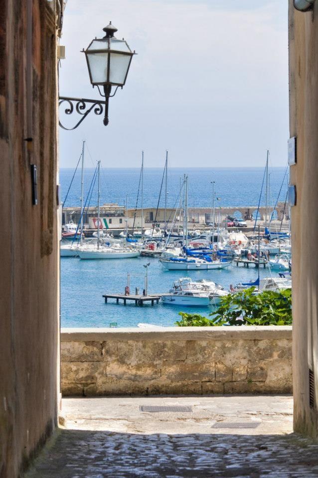 The port city of Puglia.