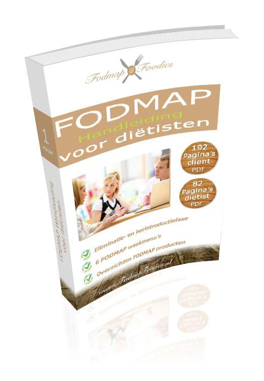 Eerste complete FODMAP Handleiding voor diëtisten, nu online!!