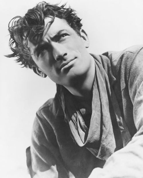 "Gregory Peck, 1940s- ""Faith gives you an inner strength and a sense of balance and perspective in life."""