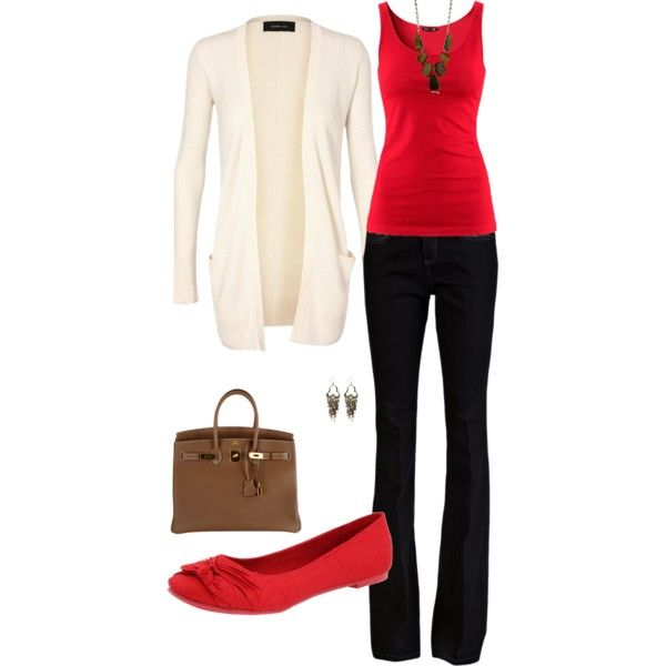 A fashion look from August 2012 featuring long sleeve tops, H&M and bootcut jeans. Browse and shop related looks.