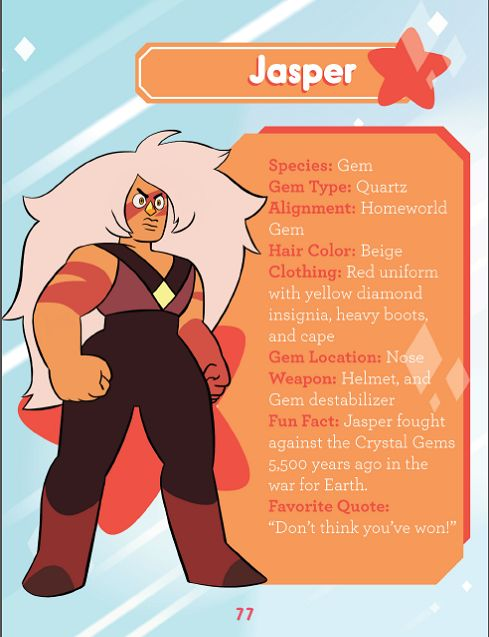 Crystal Gems and Homeworld Gems Guide To The Crystal Gems
