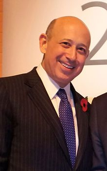 Lloyd Blankfein - CEO and Chairman of Goldman Sachs. Managing not to add ANY real wealth whatsoever to the societies they attach themselves to, such useless parasites redirect huge funds to private hoards (mostly their own). Had he, or others just like him, not been part of it, this world would be a better place ... for everybody!