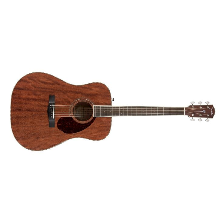 Fender PM-1 Paramount Standard Dreadnought Acoustic Guitar in All Mahogany NE