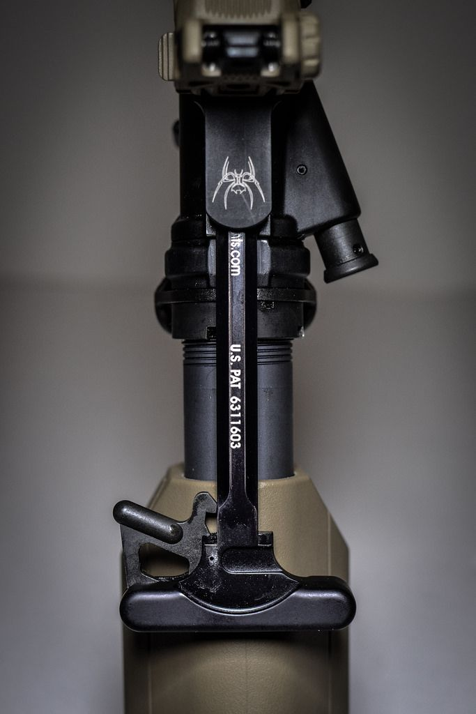 PRI Gasbuster Charging Handle and Spike's Tactical AR-15 Receiver
