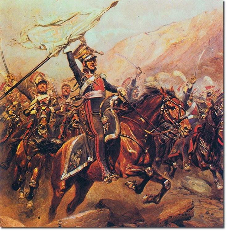 Polish Lancer charge