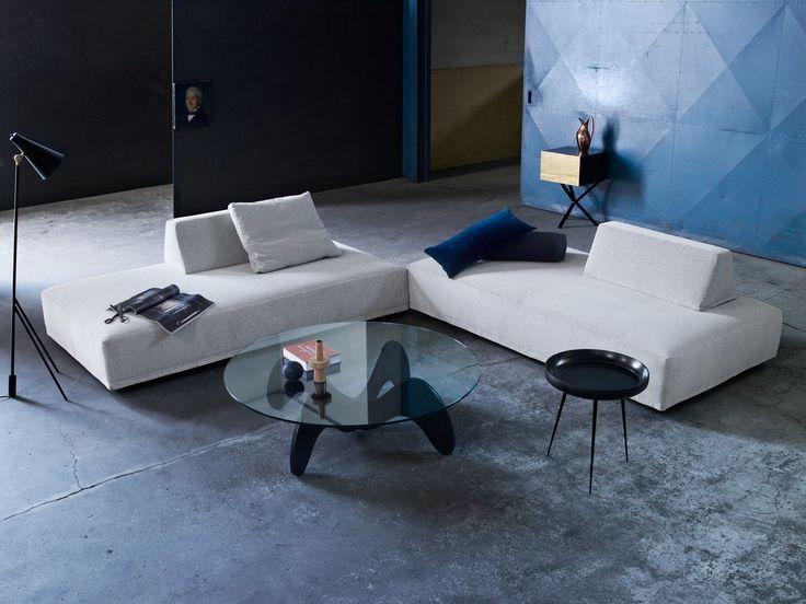 Playground sofa is created to satisfy the need for combining sofa and bed. #furniture #modernfurniture #livingroom #sofa #fabricsofa
