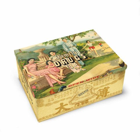 Tin Cigar Box (Family Drugs) | QUIRKS