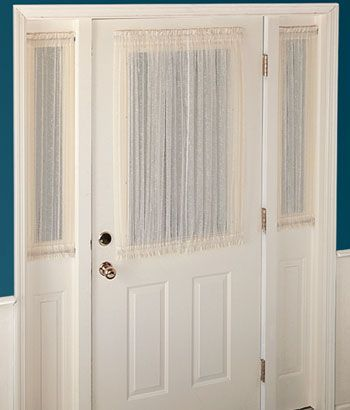 Sidelight Curtains And Panel For Your Doors Quality Window At Country Front
