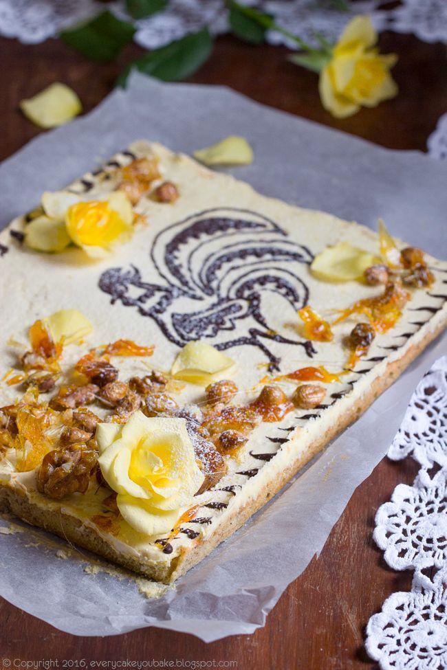 Mazurek orzechowy - Every Cake You Bake