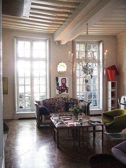 Christian Lacroix's Paris apartment