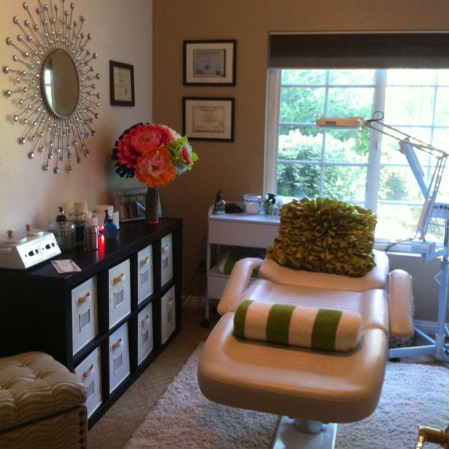 My at home Esthetician Room..i wish