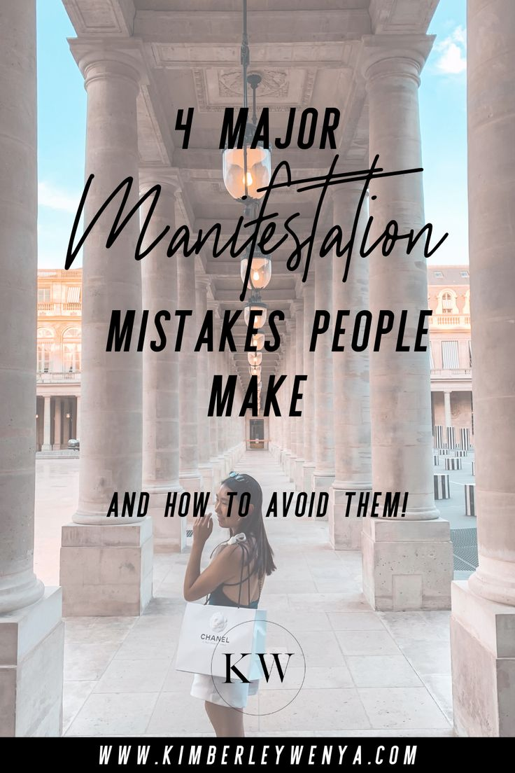 4 Major Manifestation Mistakes People Make | Manifestation & Law of Attraction Tips