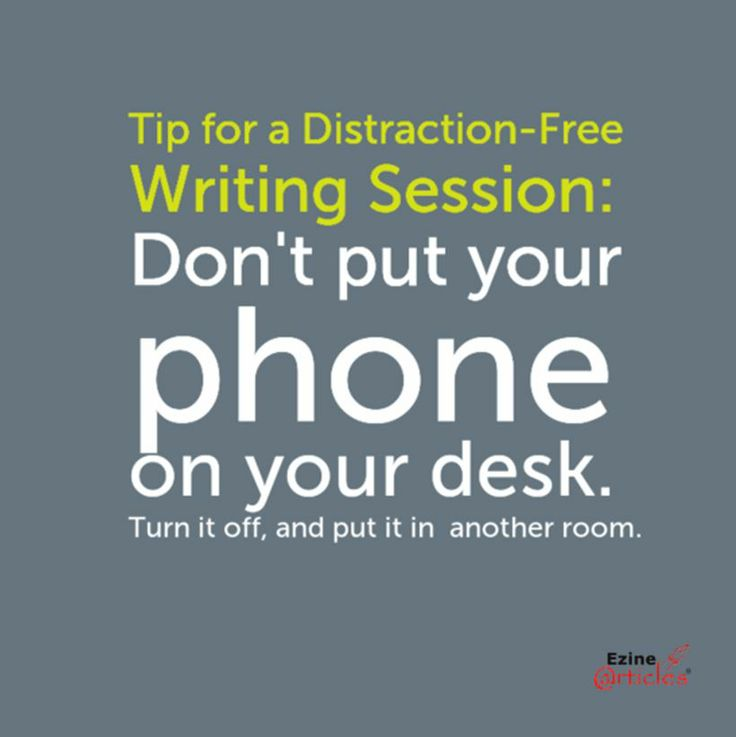 The Distraction-Free Android