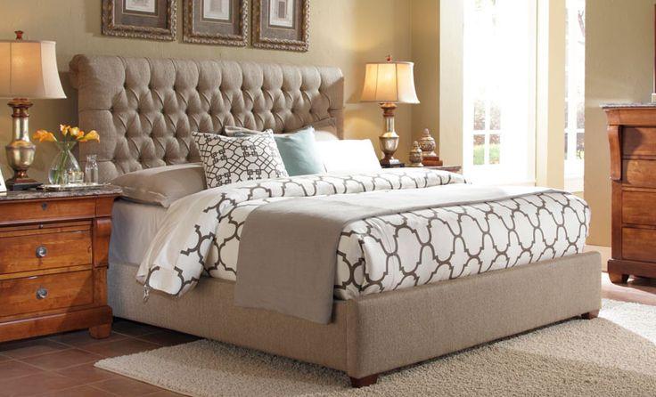 Belmar Queen Upholstered Bed - Grand Home Furnishings   K3859