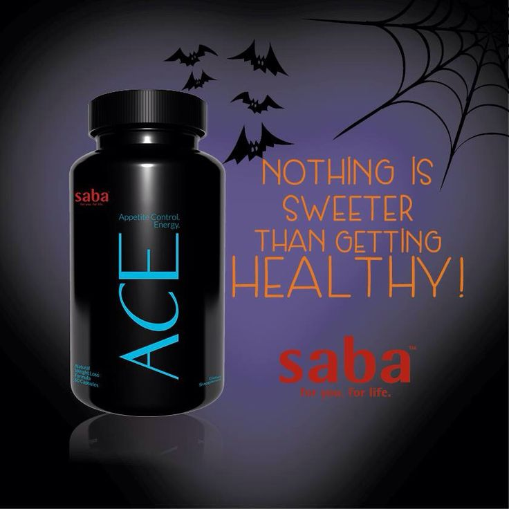 Let Saba's ACE be the trick to No Guilt from treats this Halloween  Purchase your ACE at wholesale price here: www.acehealthwealth.lovemyace.com. There is NO commitment, your autoship can be canceled at anytime with NO fees!!   #weightloss #supplements #appetitecontrol #energy #mood #health #energy #changinglives #SabaACE #wholesale #savings #SABAFORLIFE