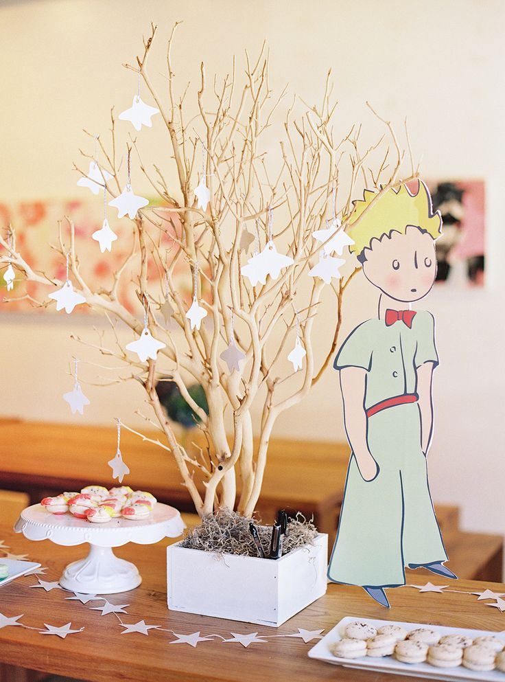 The Little Prince Themed Baby Shower | The Little Umbrella