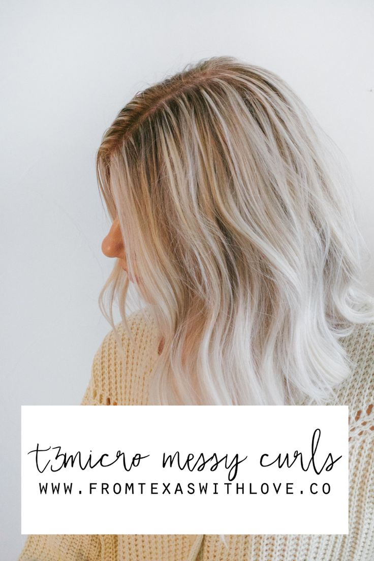Messy Curls Tutorial - From Texas with Love