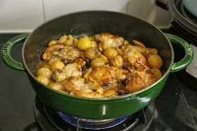 佛羅倫斯小廚房: ad hoc club (8) 栗子炆雞煲 (附食譜及過程)