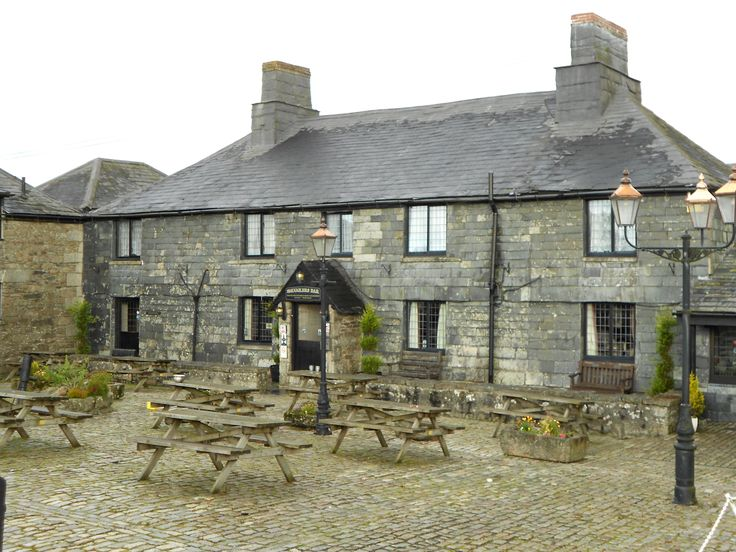 Jamaica Inn in Cornwall, England, UK. Famous for it's connections with Daphne du Maurier's novel.