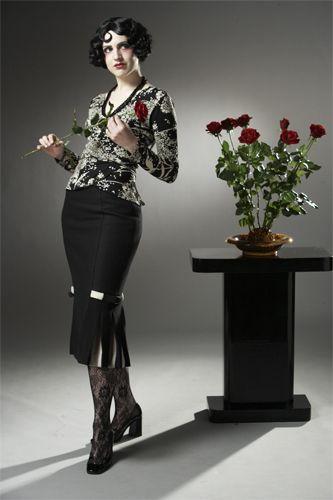 Crawford Jacket and Skirt Moderne