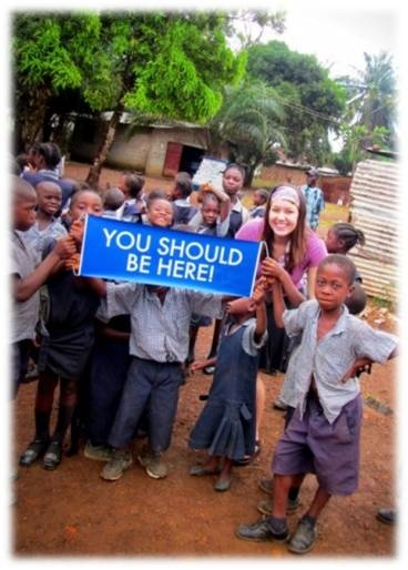 Liberia, Africa - voluntourism water project  #YSBH //// jeez, something like this can't just crop up on my feed. @Emily Schoenfeld Miller @Sarah Chintomby Childers
