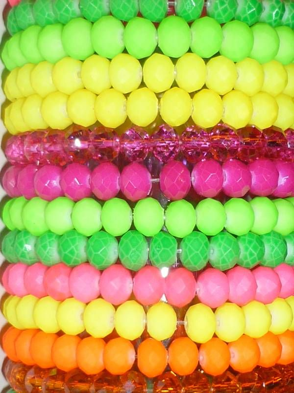 neon armbanden