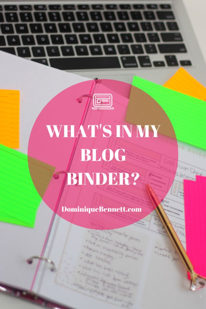 Thinking of starting a blog binder? Take a look inside my blog binder to find links to free printables, and ideas for what you may include in your own.