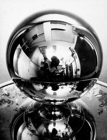 Man Ray, Self portrait with distortion, London, 1938. #photography