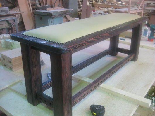 Мебель ручной работы. Ярмарка Мастеров - ручная работа. Купить Скамейки  из сосны.. Handmade. Бежевый, мебель из дерева, гвозди