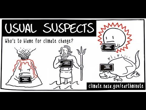 Who's to blame for #climatechange? Time to round up the usual suspects: (Hint: We are) https://youtu.be/dLGbqjp78lE  #COP21 via NASA Climate Change @EarthVitalSigns