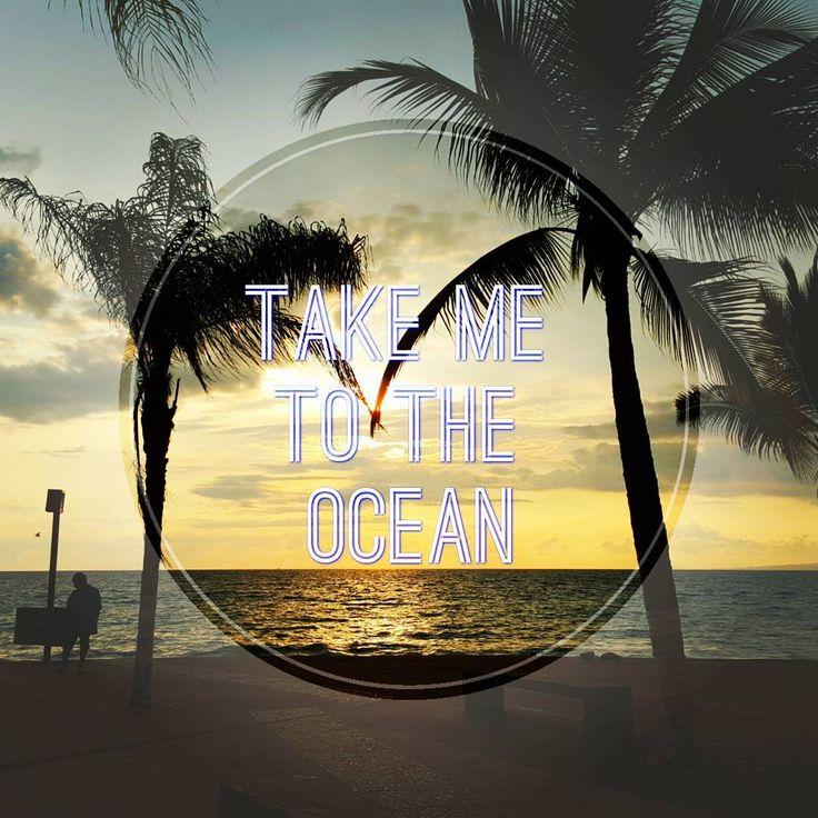 Take me to the ocean #summer #beach #sun #sand #ocean #palmtrees #summerlovin #travel #igersvallarta #igerstravel #sunsetdiaries #endofsummer