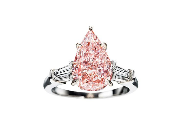 Rumor has it Prince William is buying Kate a pink diamond push present.