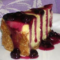 Cheesecake met bosbessen en witte chocolade @ allrecipes.nl