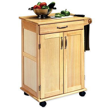 Wood kitchen cart jcpenney kitchen island carts pinterest kitchen carts Kitchen utility island