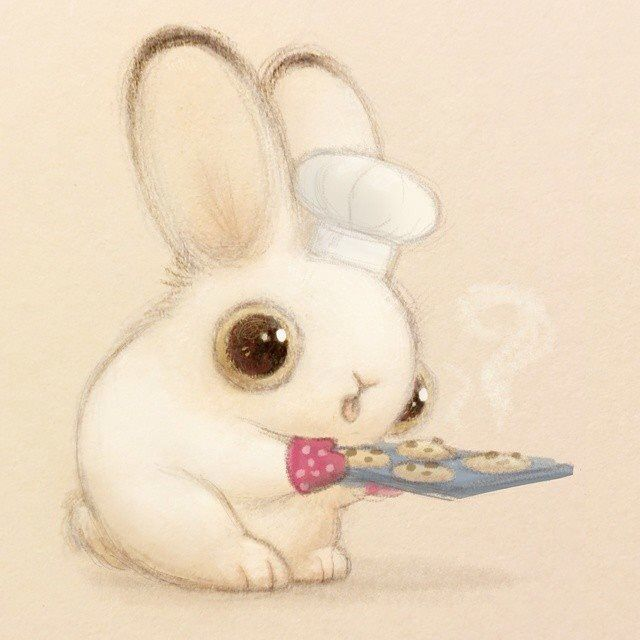 Bunny chef.