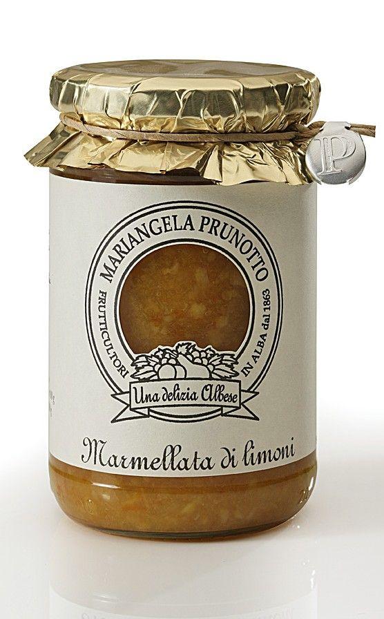 Marmellata di Limoni | Azienda Agricola Prunotto Mariangela organic farm Alba italy