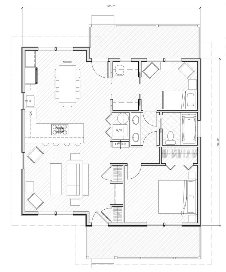 Small house plans under 1000 sq ft example picture