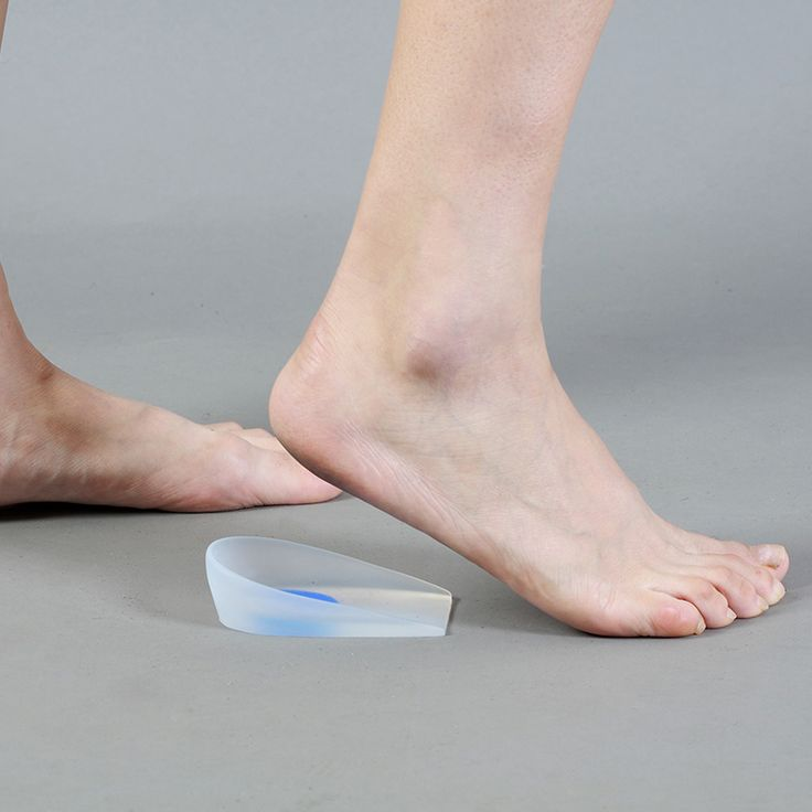 Silicone Gel Heel Support Cushion pads Used for plantar Fasciitis Calcaneal Spur Calcaneal Pains Relieve Ankle Knee Spine Pains