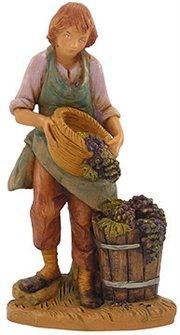 Dionysius Wine Maker Christmas Nativity Figurines