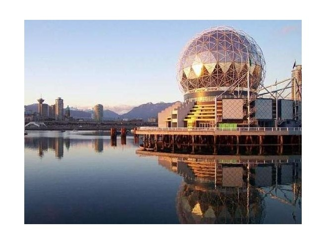 One of the left overs from out Expo 86,  Science World, Vancouver BC  Well worth the time to go and visit!!