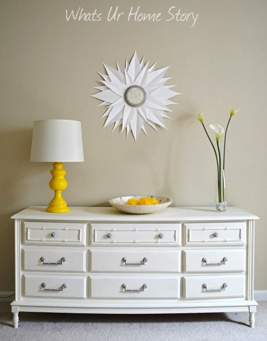 how to make a sunburst with paint