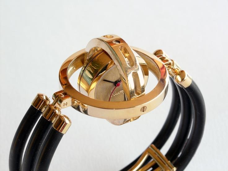 18 karaat cardanisch watch