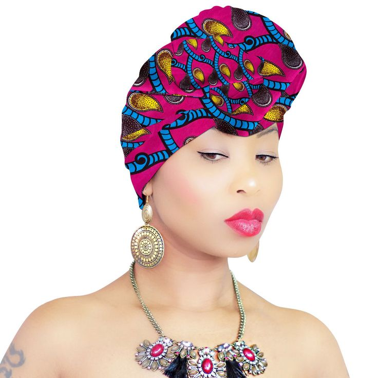 african head wraps instructions