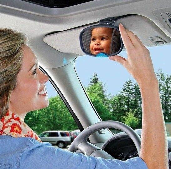 Espelho Retrovisor Munchkin, possibilita visão do bebê/ criança durante o passeio de carro.  R$49,90 cada  Compre o seu pelo site www.missybaby.com.br (link no perfil) ou em nosso show room na Vila Leopoldina em São Paulo (Endereço no perfil)