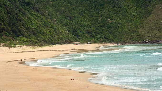 © Klaus Balzano / Flickr (Creative Commons)Playa de Lagoinha do Leste en Florianópolis, Brasil