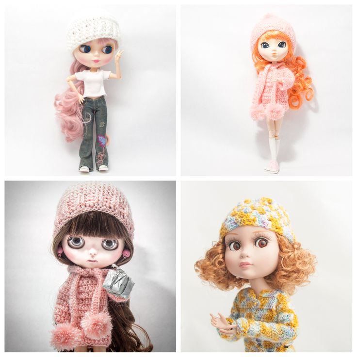 My dolls Blythe Pullip and Patience ❤❤❤